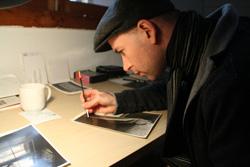 David Agasi, spot toning a print
